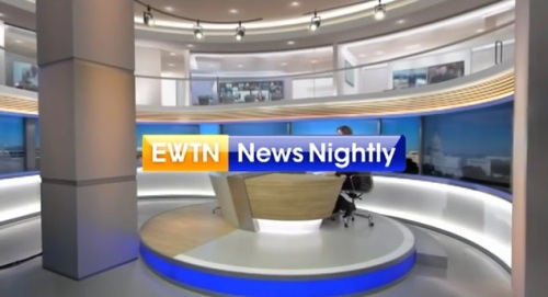 EWTN News Nightly set