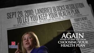 LANDRIEU BLOCKS RESOLUTION